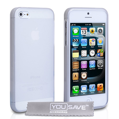 Funda iPhone 5s de siliconoa
