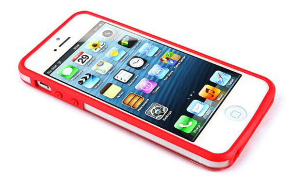 bumper iphone 5s rojo