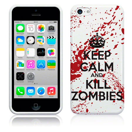 funda-keep-calm-and-kill-zombies-iphone-5c
